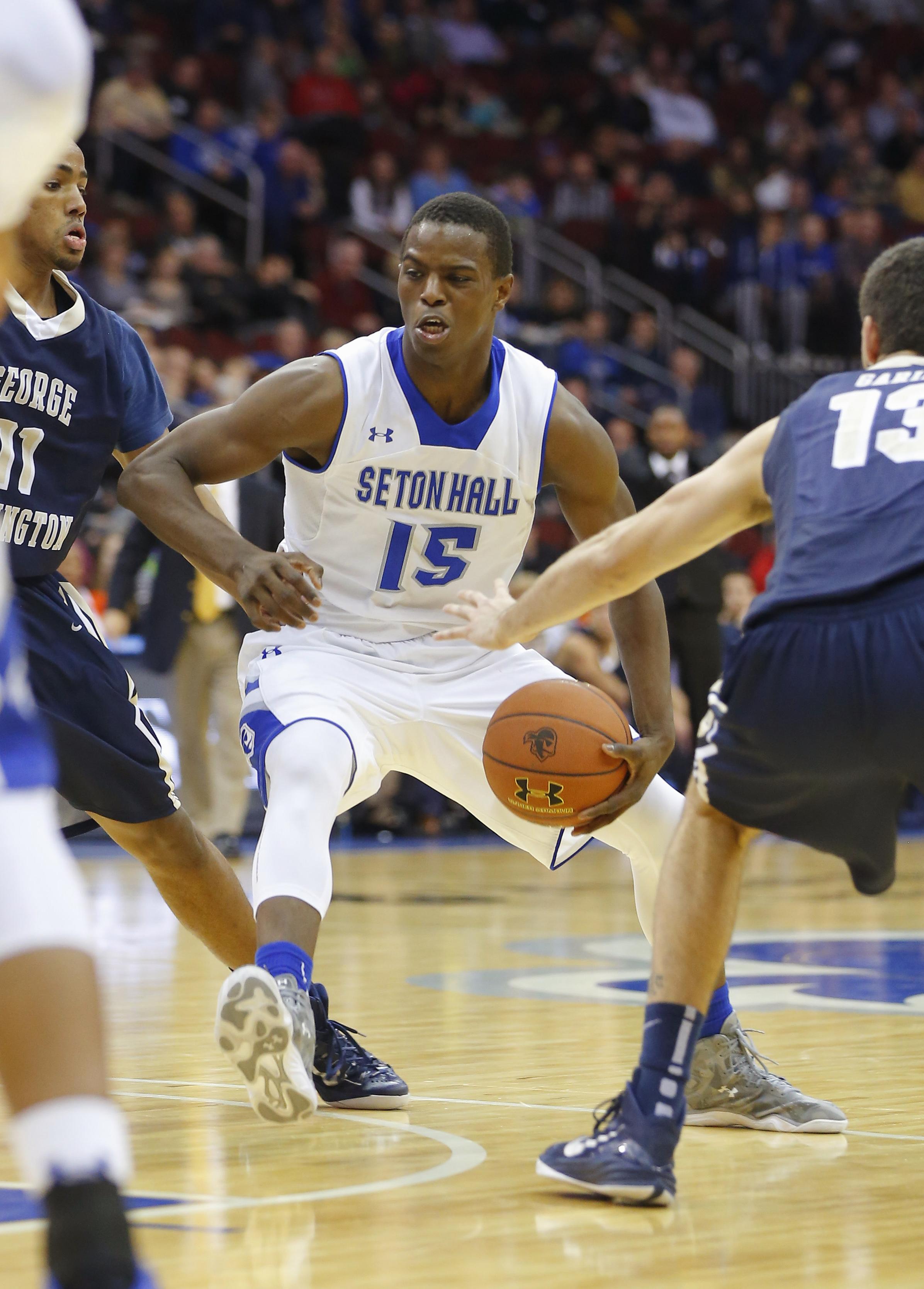 NCAA Basketball: George Washington at Seton Hall