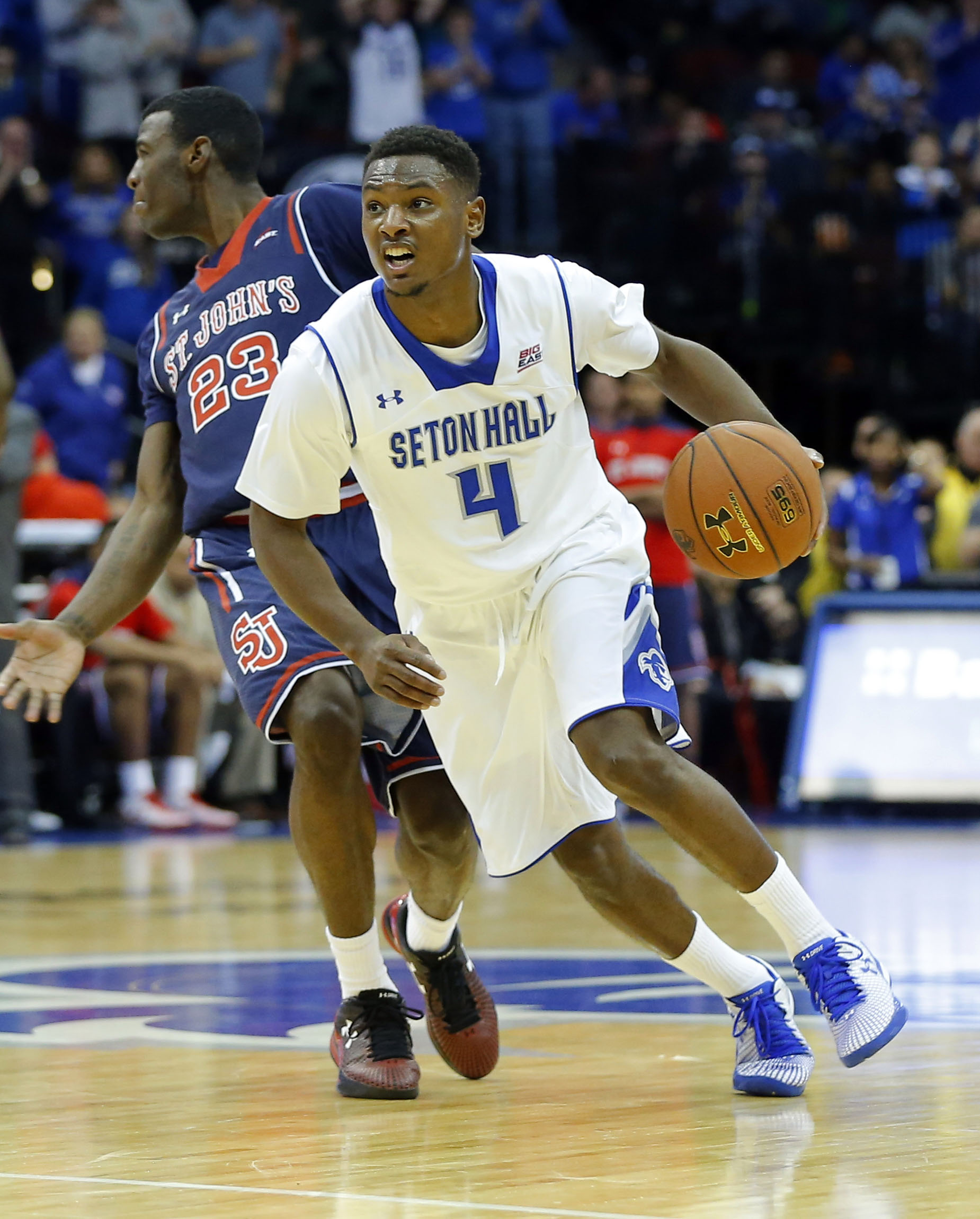 NCAA Basketball: St. John's at Seton Hall