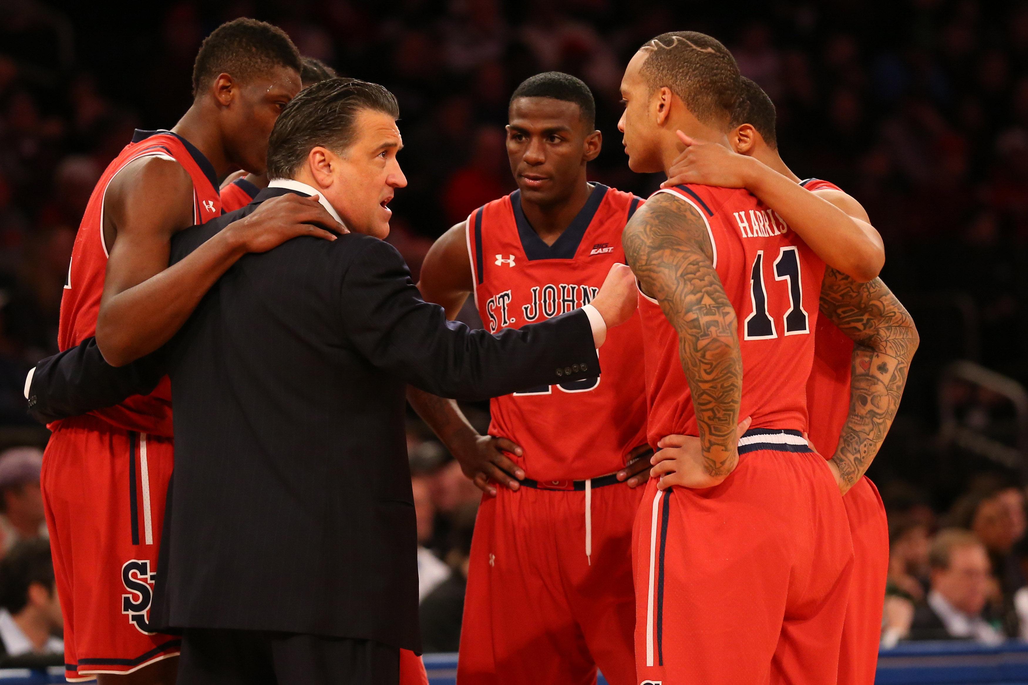 NCAA Basketball: Providence at St. John's