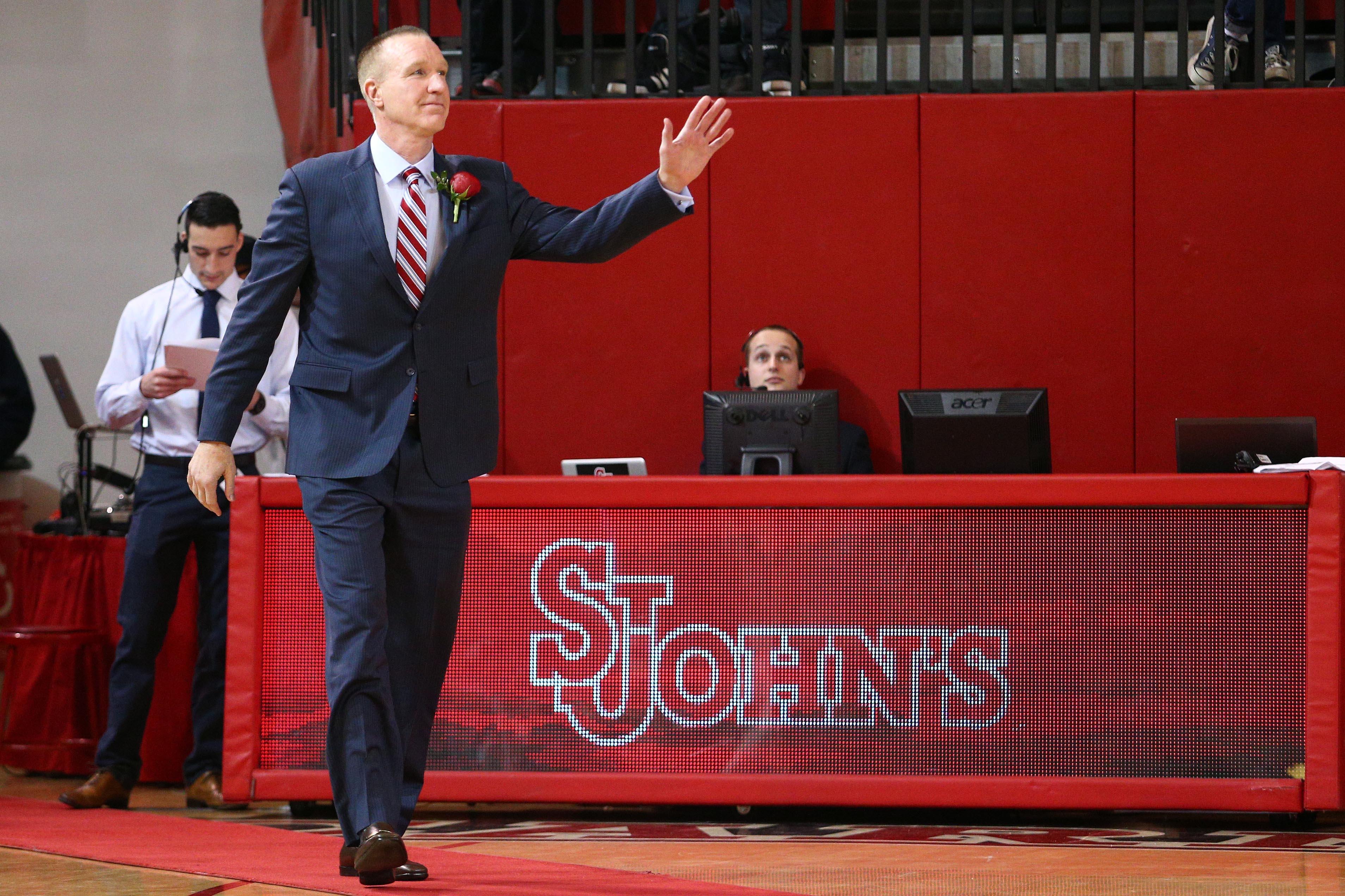NCAA Basketball: Seton Hall at St. John's