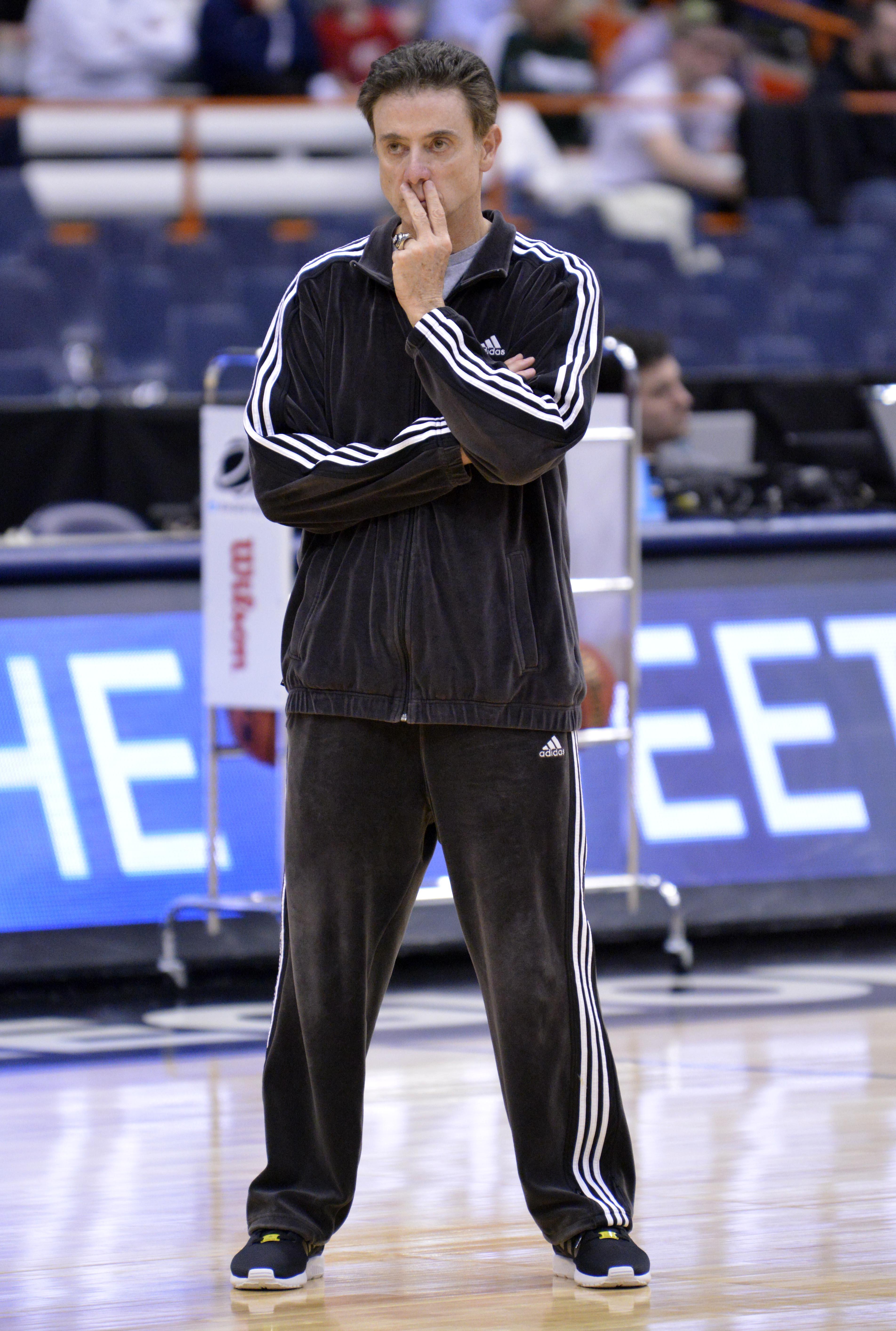 NCAA Basketball: NCAA Tournament-Louisville Practice