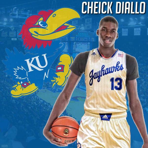 Cheick Diallo to Kansas | Zagsblog