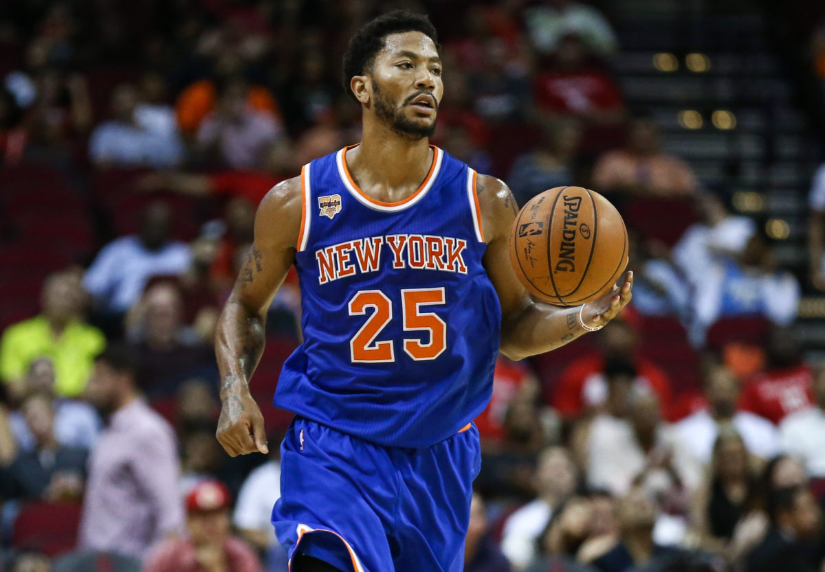 fa555e7646c Knicks  Derrick Rose Likely to Start in Season Opener Despite Missing Two  Weeks for Civil Trial