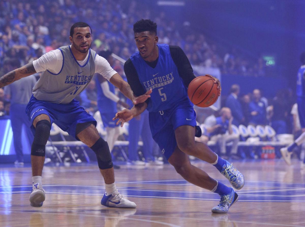 cfd3deaf955 Malik Monk Looks Like Human Highlight Reel at Kentucky s Blue-White Game