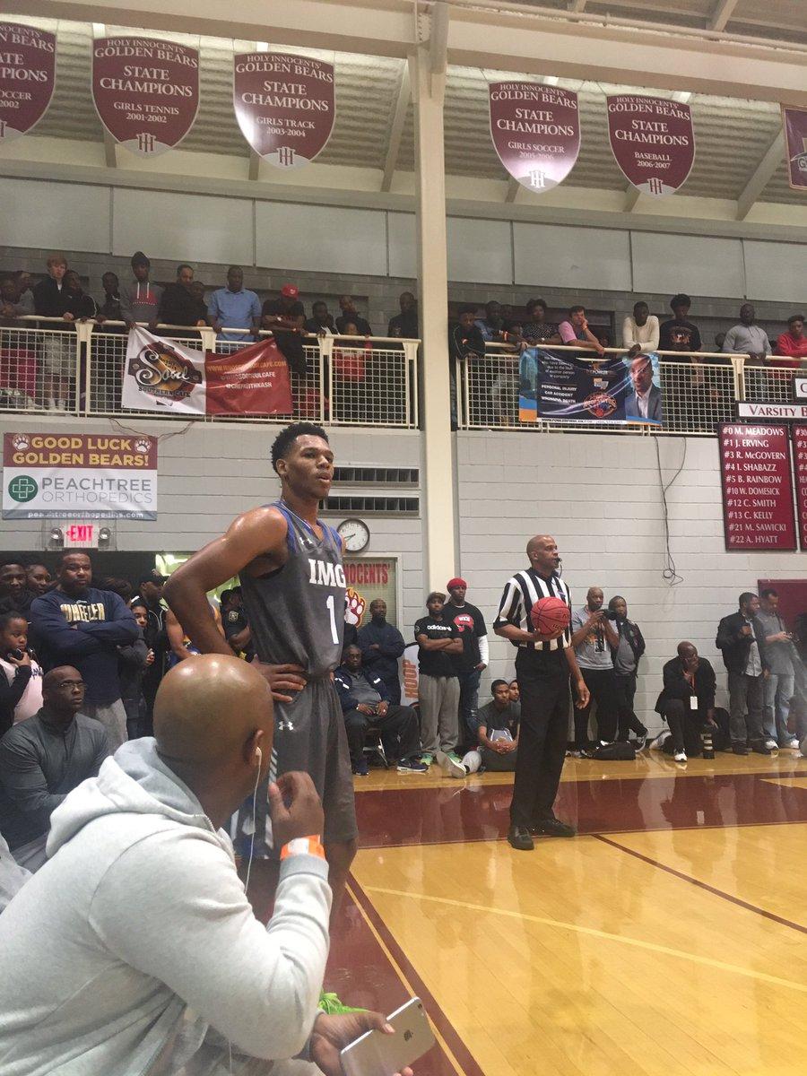 Trevon Duval Talks Duke Offer, One-and-Done Goals | Zagsblog