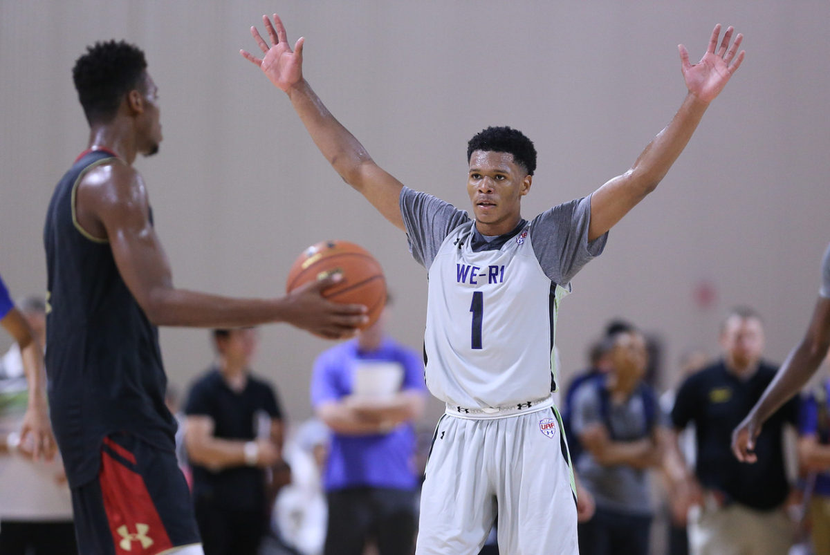 e718ba5349c7 NEWARK — Myles Powell is friends with Trevon Duval and would love for Duval  to join him at Seton Hall next season.