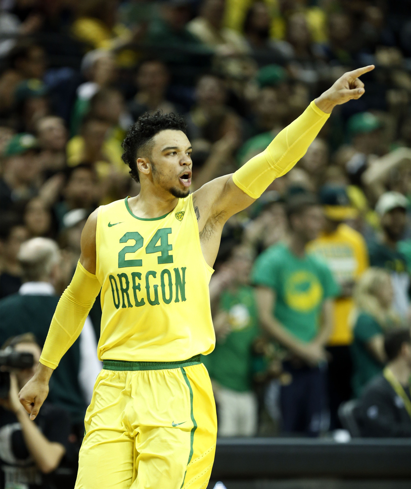 Oregons Dillon Brooks Diagnosed With Sprained Foot Out Indefinitely