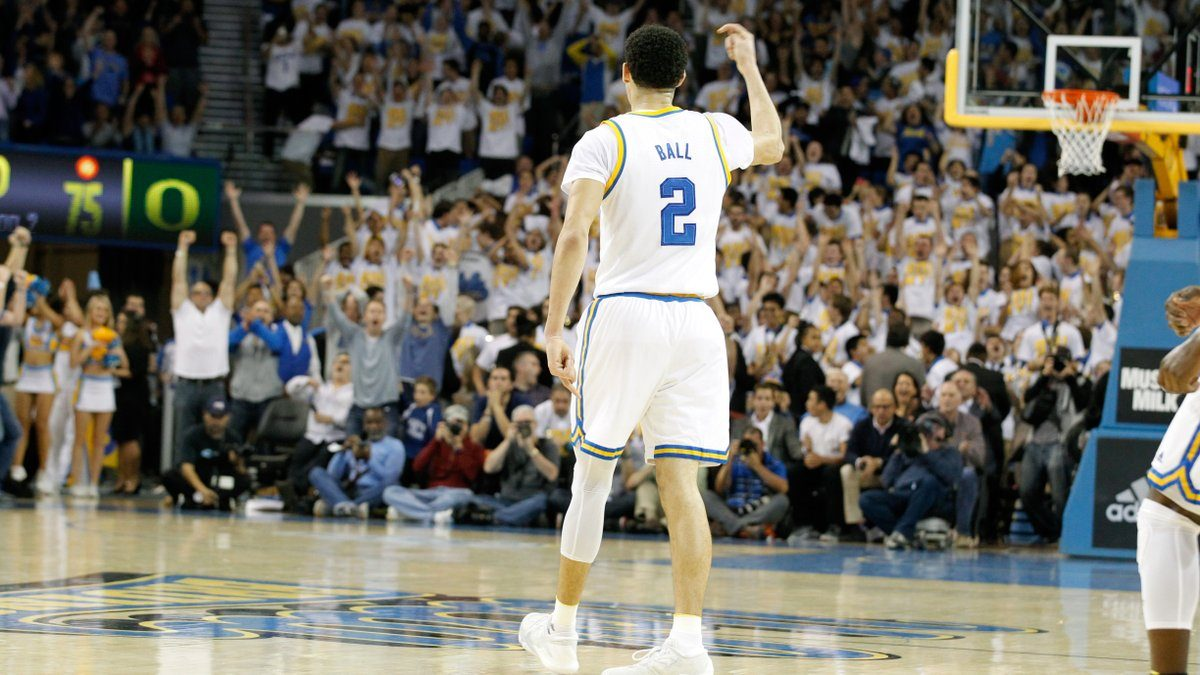 Lonzo Ball Leads No 10 Ucla To 19 Point Comeback Victory Over No 5 Oregon Zagsblog