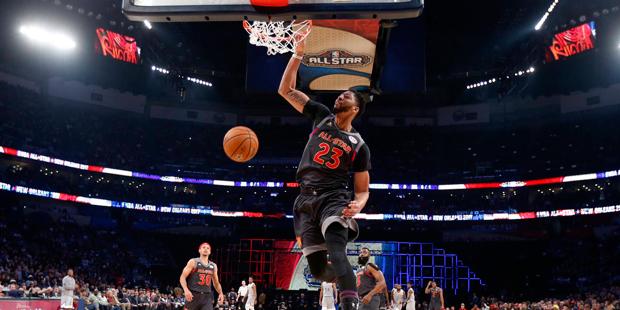 9466d8eddb4 MVP Anthony Davis Sets Scoring Record as West Wins NBA All-Star Game ...