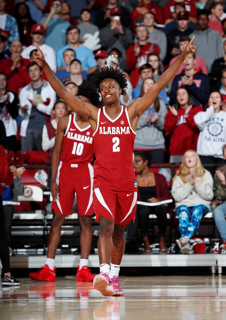 release date bf5b4 ff6ca Alabama's Collin Sexton says he's not focusing on NBA Draft ...