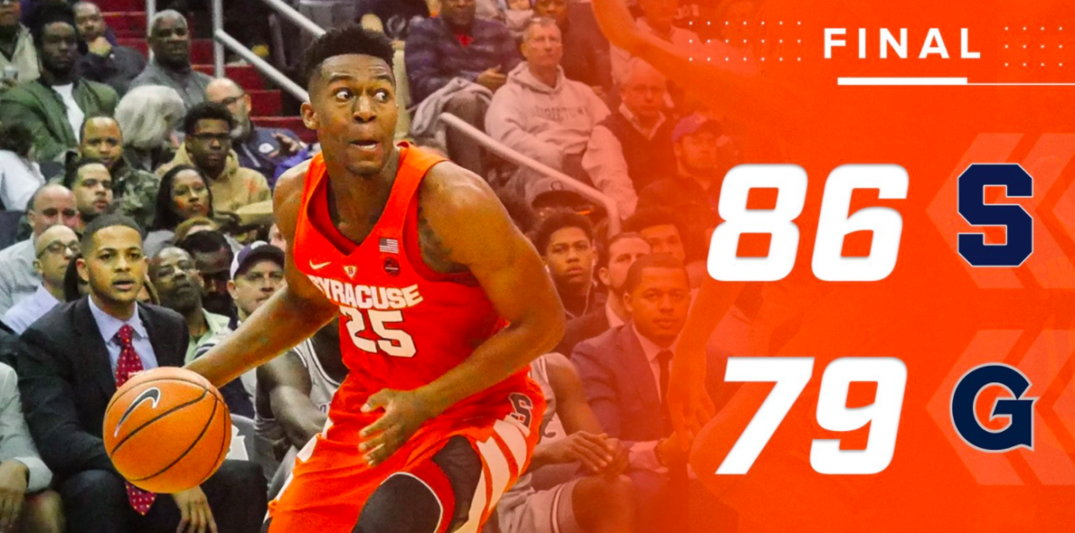 the events leading to the siege in syracuse Battle, who finished his sophomore season at syracuse as his team's leading  scorer (192 ppg), completed his school work at su, went home to.