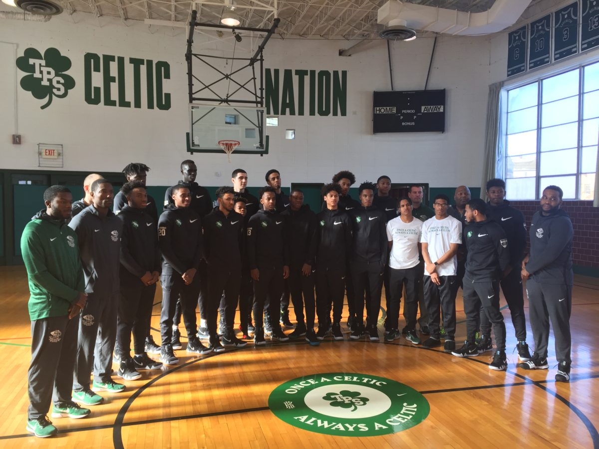 244eaf194d50 Kyrie Irving pays for renovation of alma mater The Patrick School ...