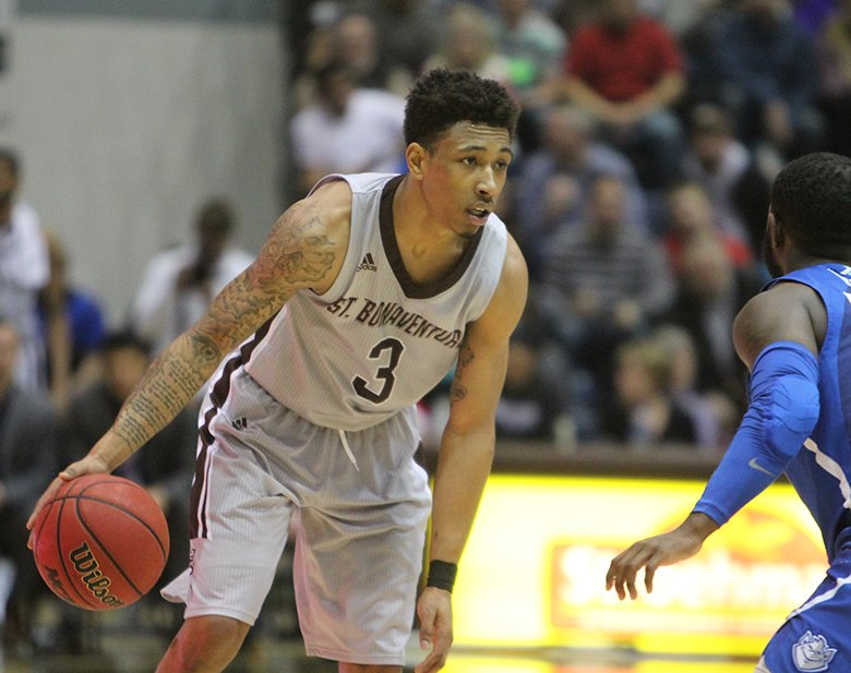 Jaylen Adams drops 44 for the Bonnies four days after scoring 40