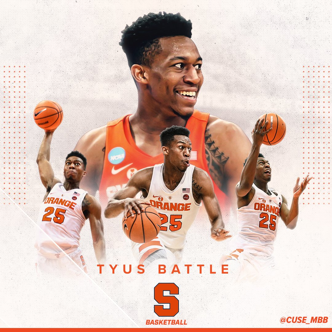 Syracuse's Tyus Battle to test NBA Draft waters without an ...