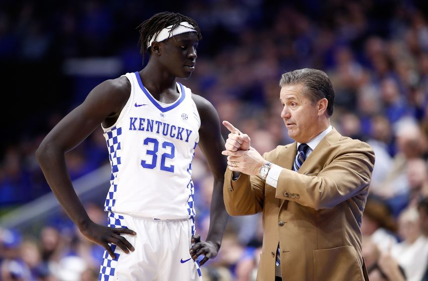 69038af03 Kentucky sophomore forward Wenyen Gabriel announced Wednesday that he will  test the NBA Draft waters but will not hire an agent.