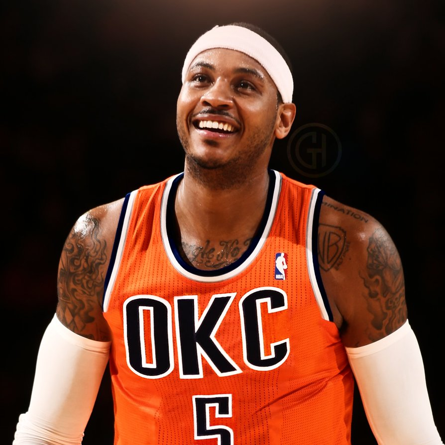 new concept 0b919 d01b3 Carmelo Anthony has already met with the Rockets and Heat ...