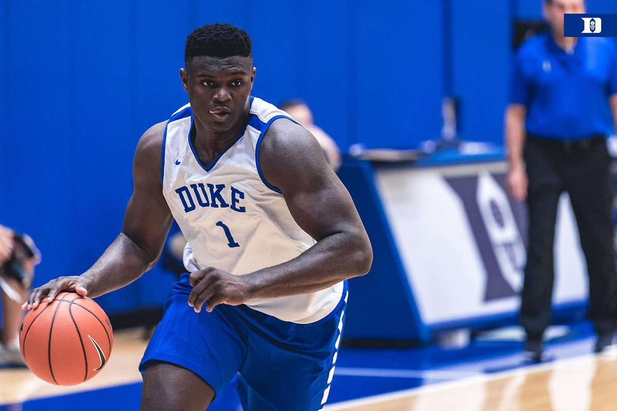 Coach K Calls   Pound Zion Williamson Graceful Has No Concerns About His Weight