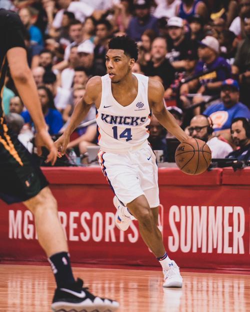 Arizona product Allonzo Trier impresses in Knicks debut