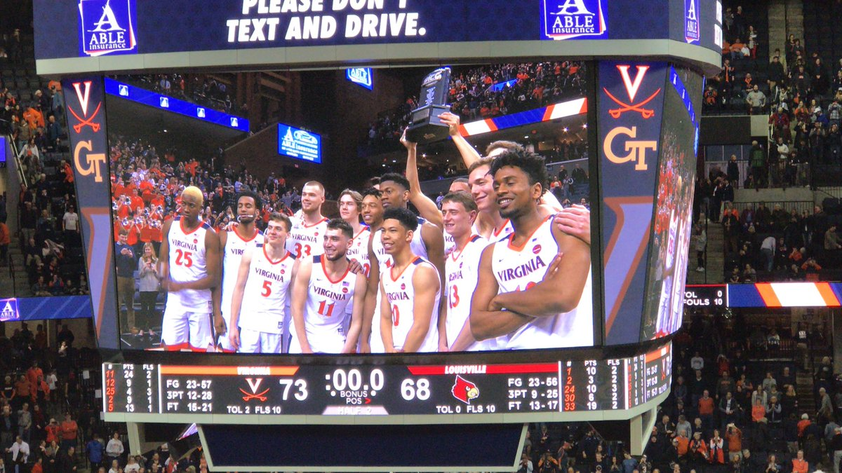 Virginia, North Carolina are top seeds in ACC Tournament ...