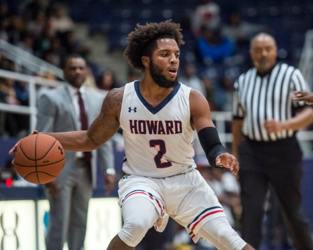 Howard transfer R.J. Cole sets two officials