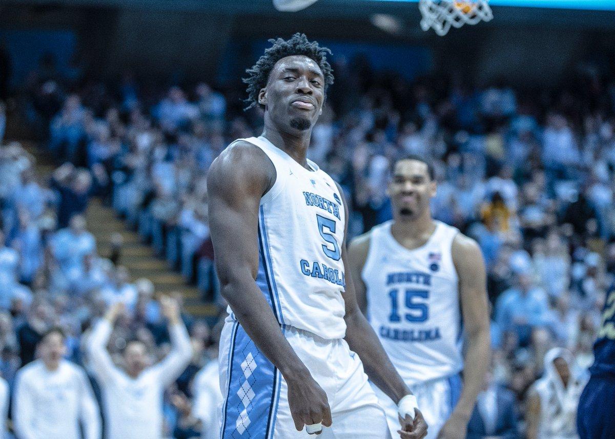 cefb427fe6b North Carolina's Nassir Little declares for NBA Draft | Zagsblog
