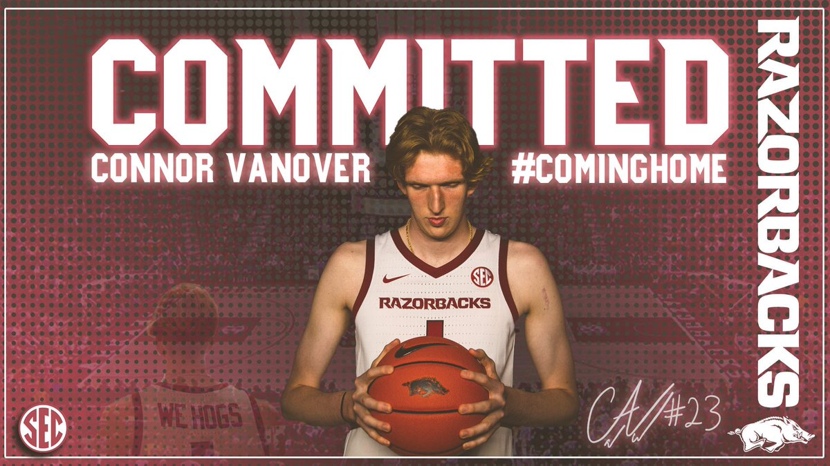 Arkansas lands Cal transfer Connor Vanover | Zagsblog