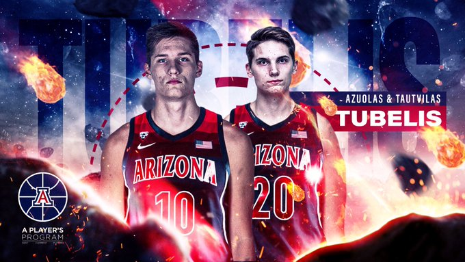 Arizona lands international basketball prospect Azuolas Tubelis ...