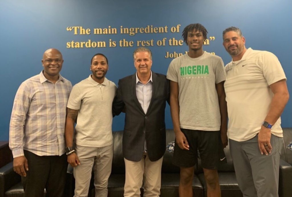 Kentucky offers Class of 2023 five-star forward Mackenzie Mgbako