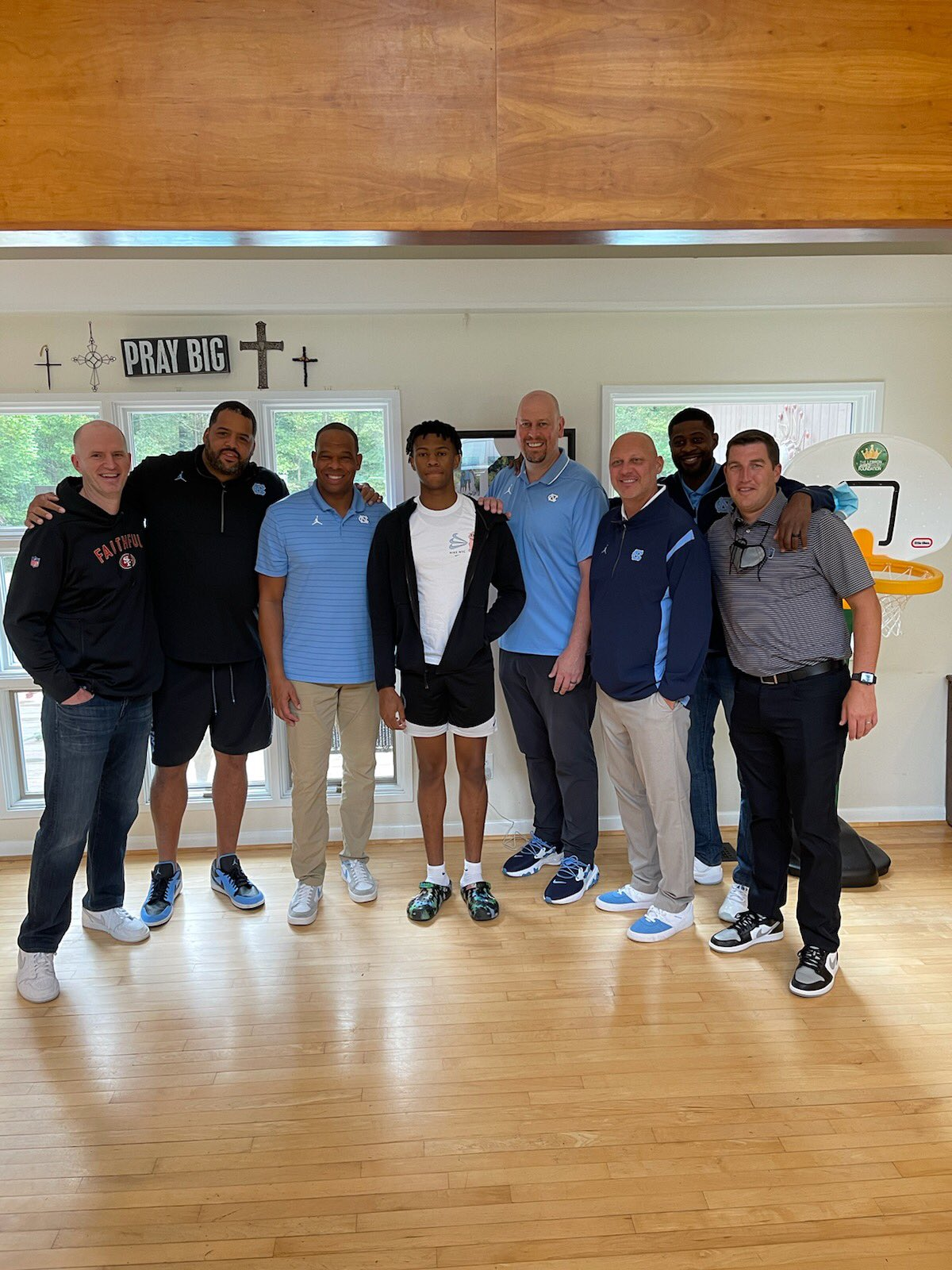 Five-star guard Simeon Wilcher visits North Carolina, gets the love